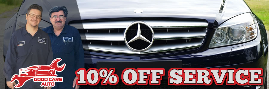 Get 10% off service at Good Care Auto today! Click Here for Details