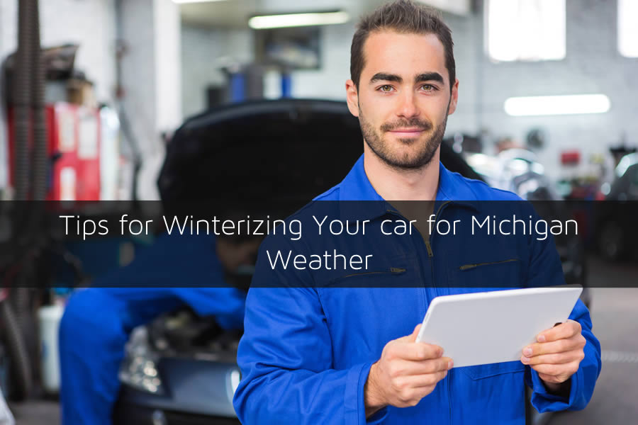Tips for Winterizing Your car for Michigan Weather