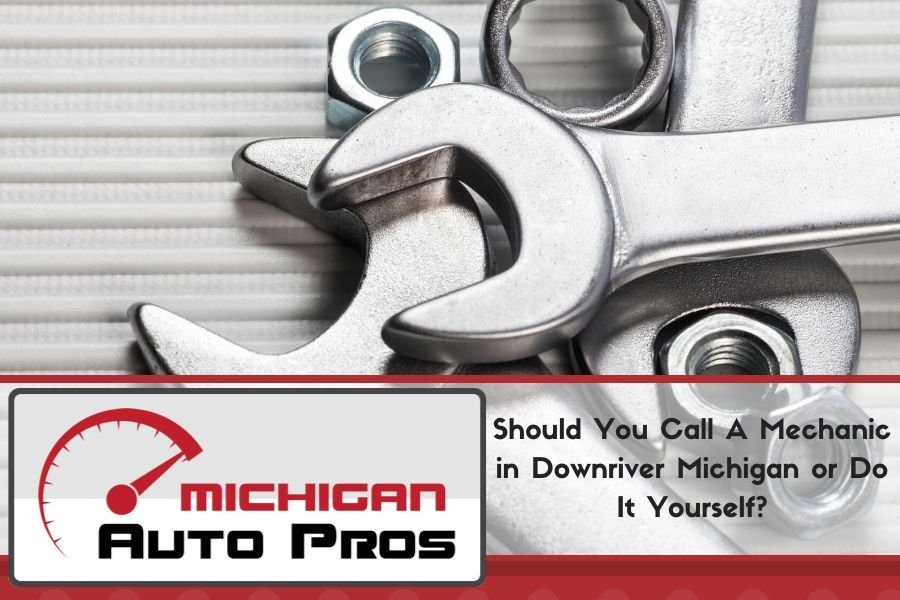 Should You Call A Mechanic in Downriver Michigan or Do It Yourself?